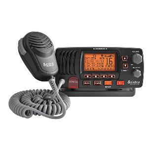 Cobra MR F57B Fixed Mount Class D VHF Radio - Grey