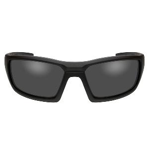 Wiley X Censor Black Ops Polarized Sunglasses - Smoke Grey Lens - Matte Black Frame