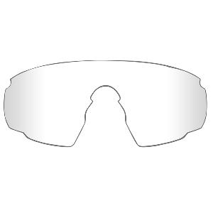 Wiley X PT-1 Sunglasses - Clear Lens - Matte Black Frame