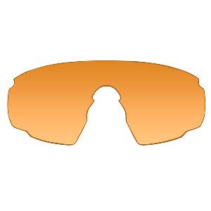 Wiley X PT-1 Sunglasses - Rust Lens - Matte Black Frame w/Rx Insert
