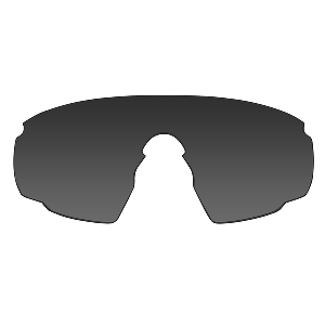 Wiley X PT-1 Sunglasses - Smoke Grey/Clear Lens - Matte Black Frame w/Rx Insert