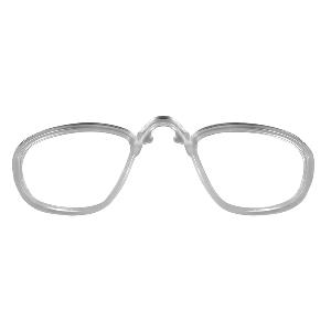 Wiley X PT-1 Sunglasses - Smoke Grey/Clear Lens - Matte Black Frame w/Rx Insert