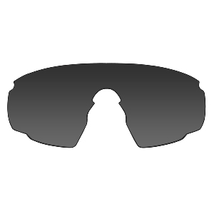 Wiley X PT-1 Sunglasses - Smoke Grey/Clear/Rust Lens - Matte Black Frame