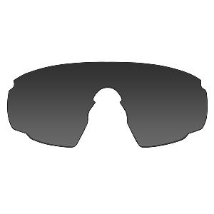 Wiley X PT-1 Sunglasses - Smoke Grey/Clear/Rust Lens - Matte Black Frame w/Rx Insert