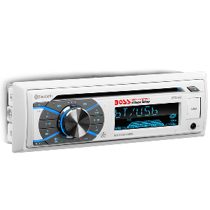 Boss Audio MR508UABW Single-DIN CD/USB/SD/MP3/WMA/AM/FM Receiver w/Bluetooth