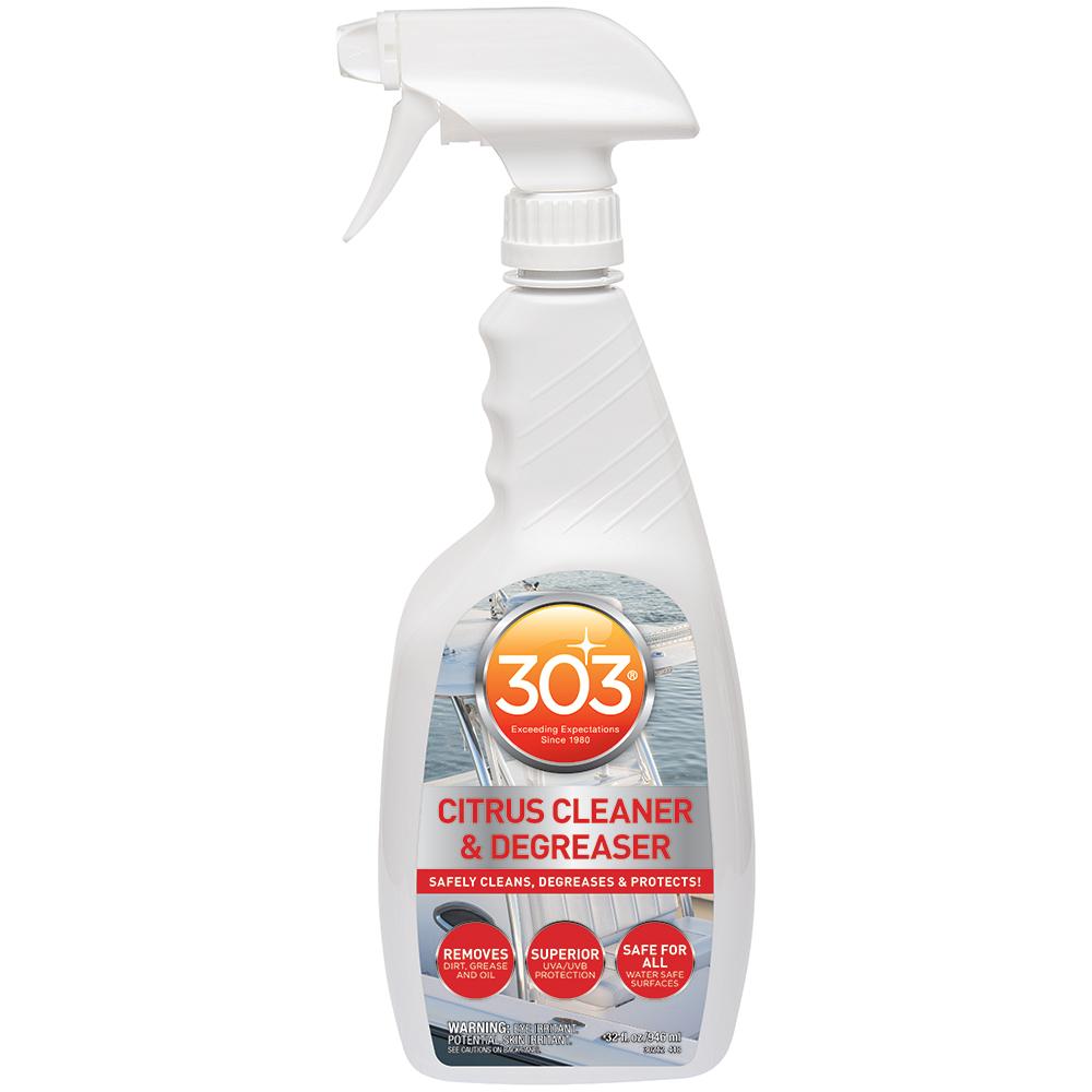 303 Marine Citrus Cleaner & Degreaser with Trigger Sprayer - 32oz *Case of 6*