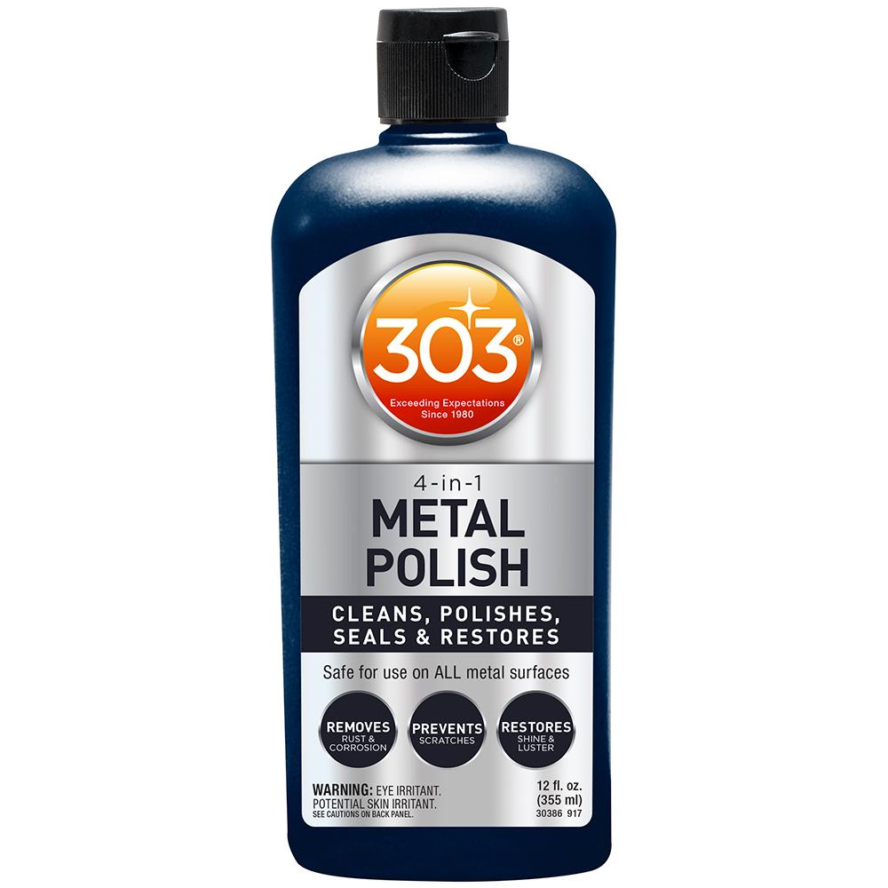 303 4-In-1 Metal Polish - 12oz