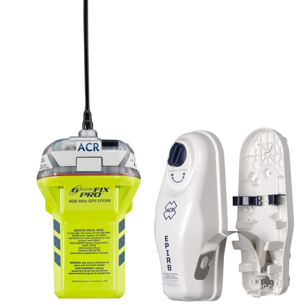 ACR GlobalFix™ PRO 406 MHz GPS EPIRB Cat I