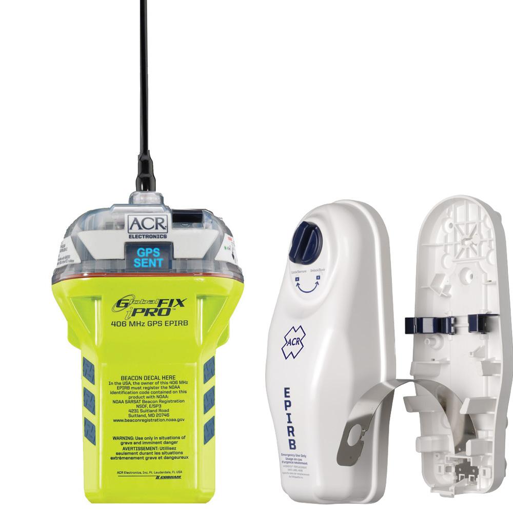 ACR Globalfix™ iPRO 406 MHz GPS EPIRB - Category 1
