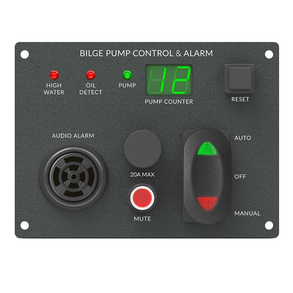 Blue Guard Innovations Control Panel
