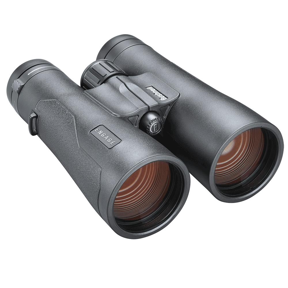Bushnell 12x50mm Engage™ Binocular - Black Roof Prism ED/FMC/UWB