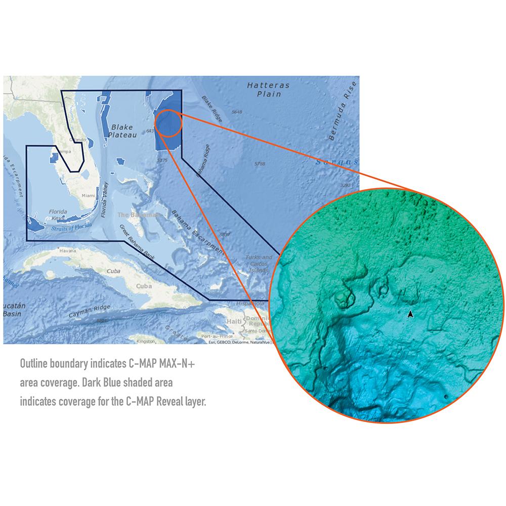 C-MAP Reveal - Florida & The Bahamas