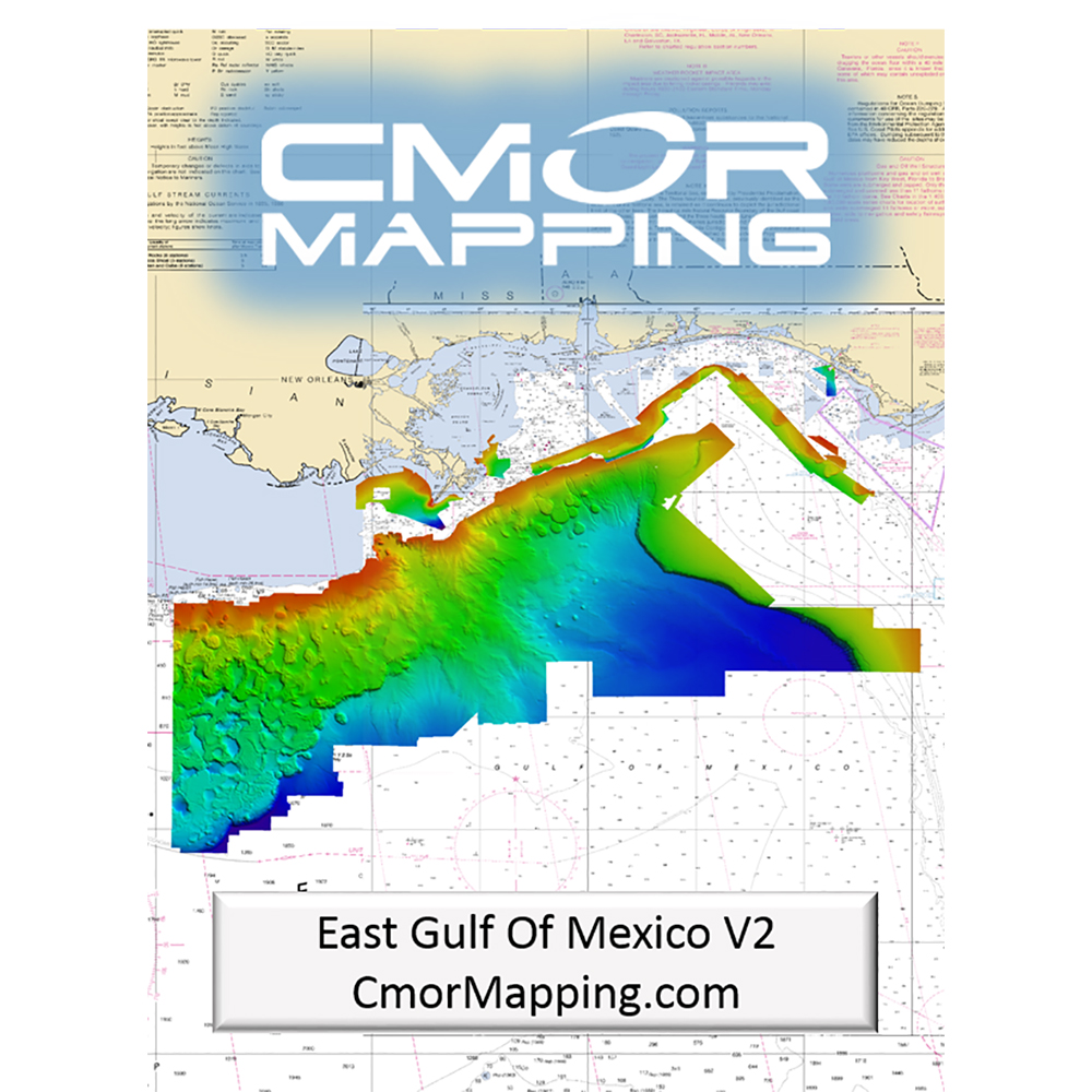 CMOR Mapping East Gulf of Mexico f/Simrad, Lowrance, B&G & Mercury