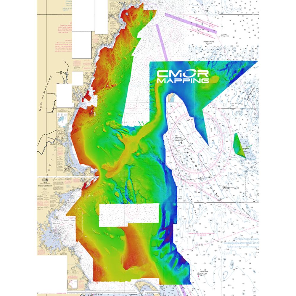 CMOR Mapping Gulf of Maine f/Raymarine