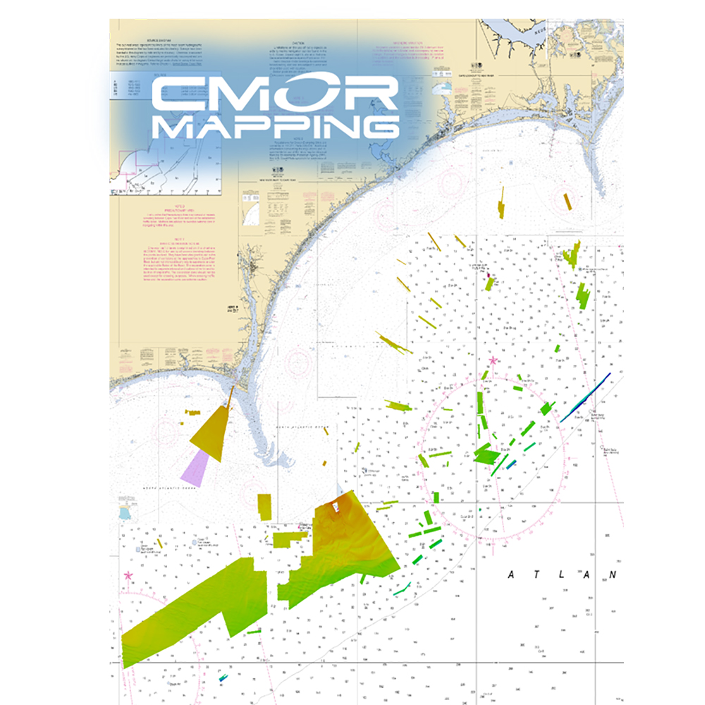 CMOR Mapping Georgetown & Cape Lookout f/Simrad, Lowrance, B&G & Mercury
