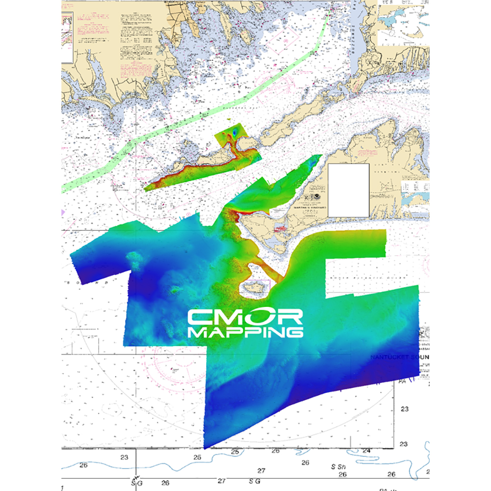 CMOR Mapping Long, Block Island Sound & Martha's Vineyard f/Raymarine