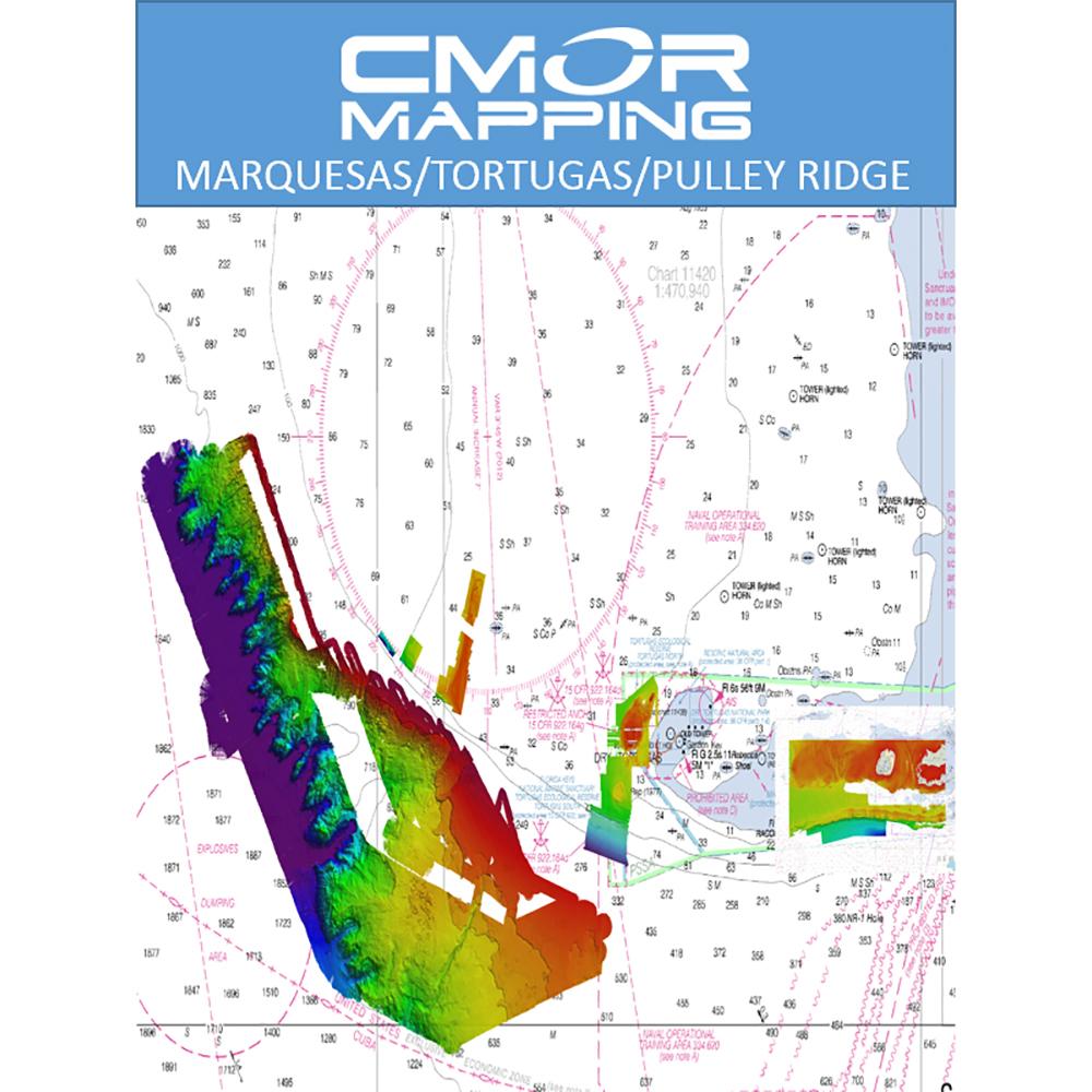 CMOR Mapping Marquesas, Tortugas, Pulley Ridge f/Raymarine