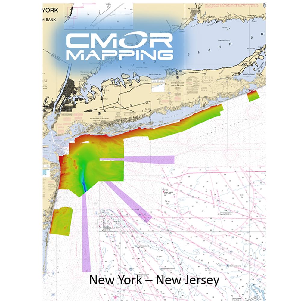CMOR Mapping NY & NJ f/Raymarine