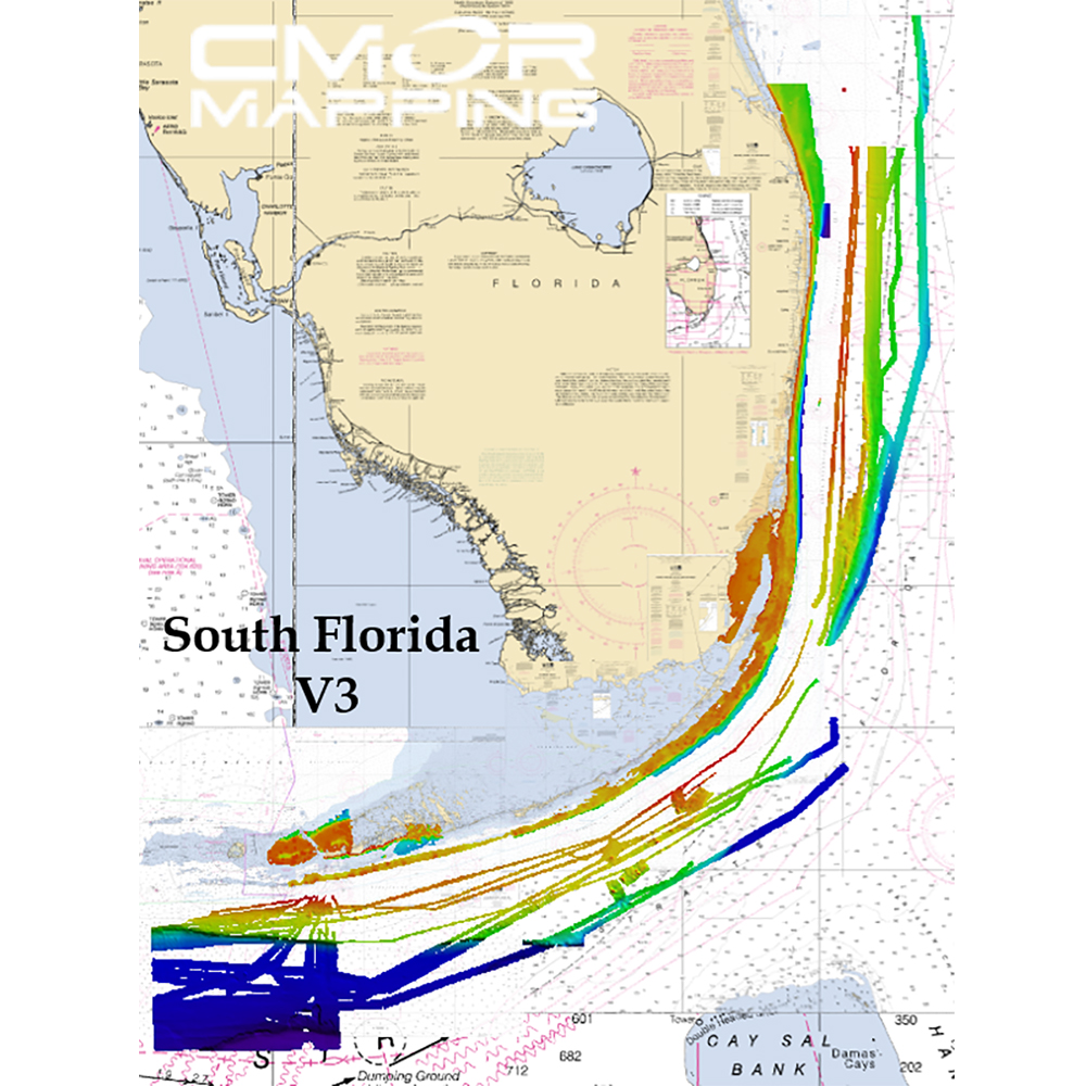 CMOR Mapping South Florida f/Raymarine