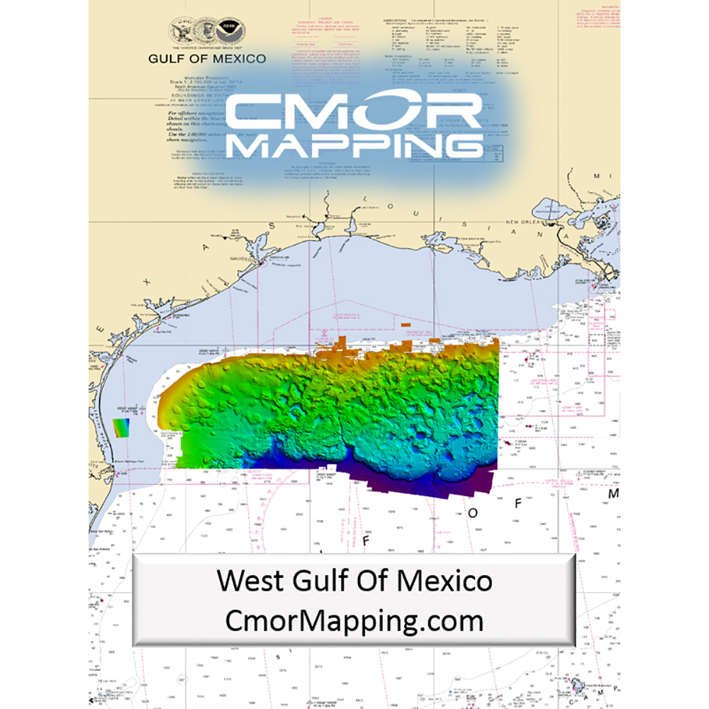 CMOR Mapping West Gulf of Mexico f/Simrad, Lowrance, B&G & Mercury