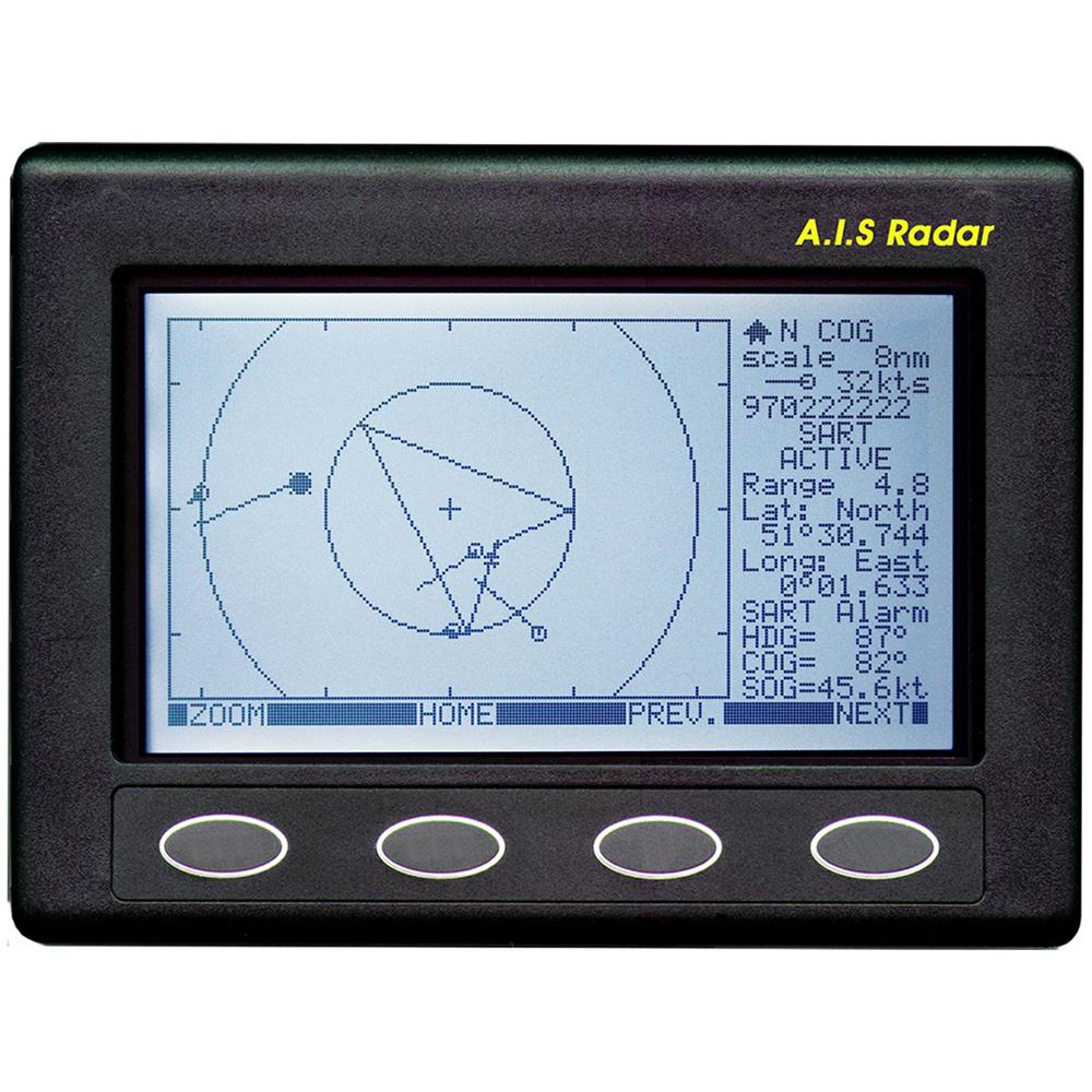 Clipper AIS Plotter/Radar - Requires GPS Input & VHF Antenna