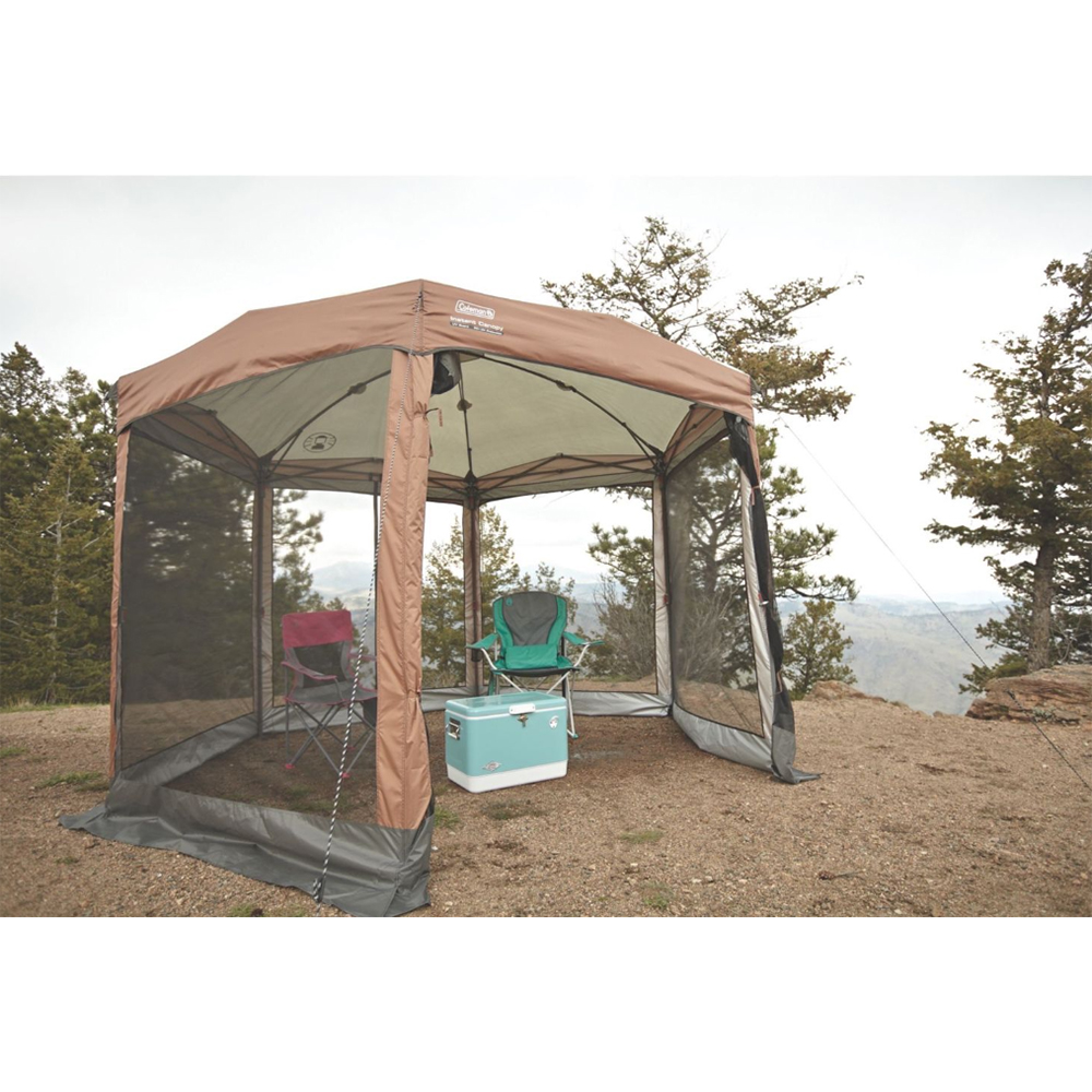 Coleman Shelter 12 x 10 Back Home™ Screened Canopy Sun Shelter w/Instant Setup