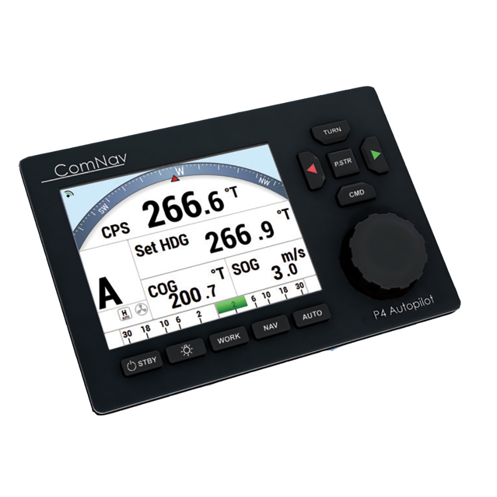 ComNav P4 Color Pack - Fluxgate Compass & Rotary Feedback f/Yacht Boats *Deck Mount Bracket Optional