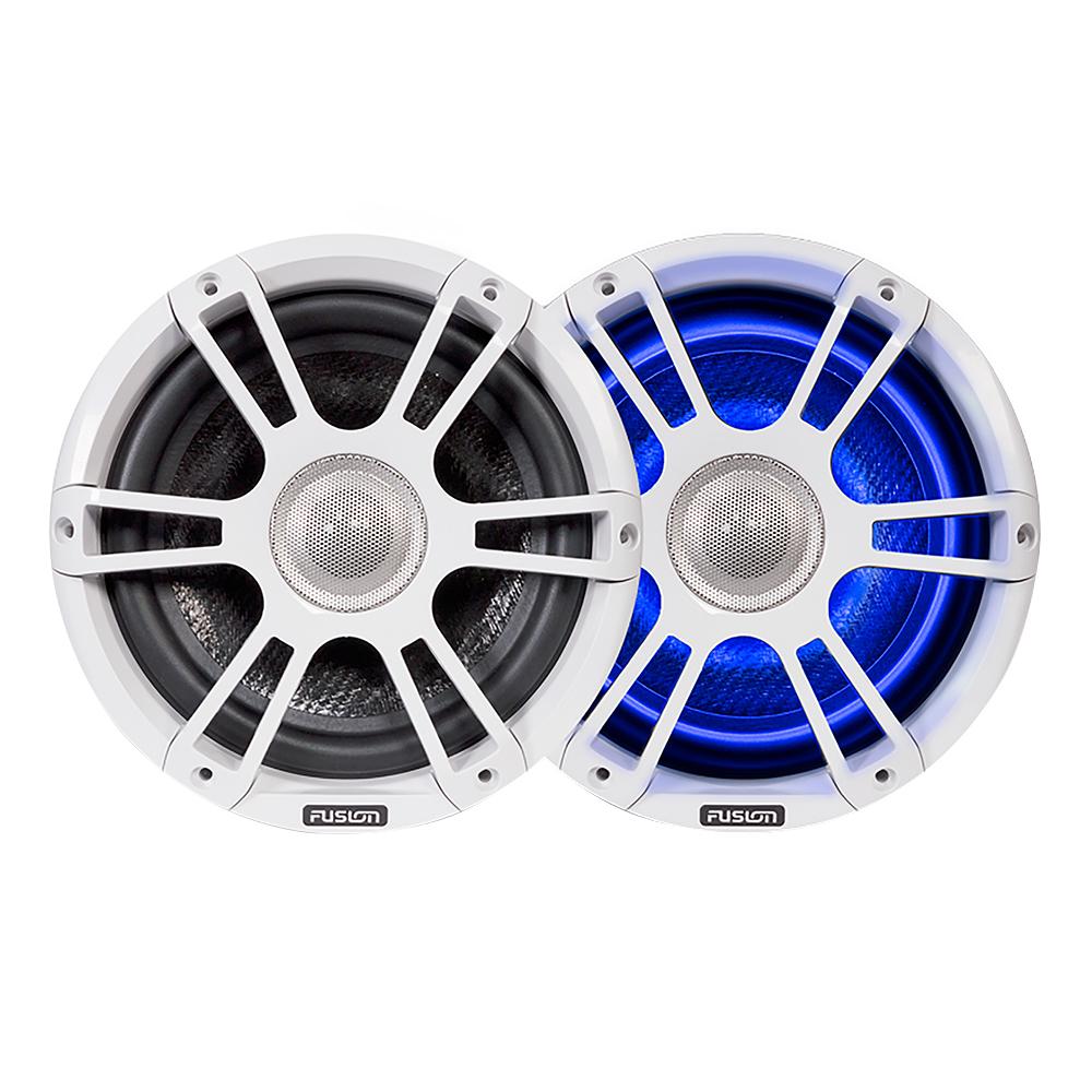 "FUSION FL88SPW Signature Series Speakers 8.8"" Sport Grill - (Pair) White"