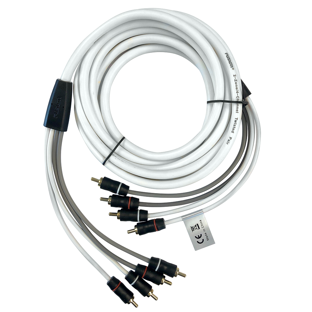 FUSION EL-FRCA6 6' Standard 4-Way RCA Cable