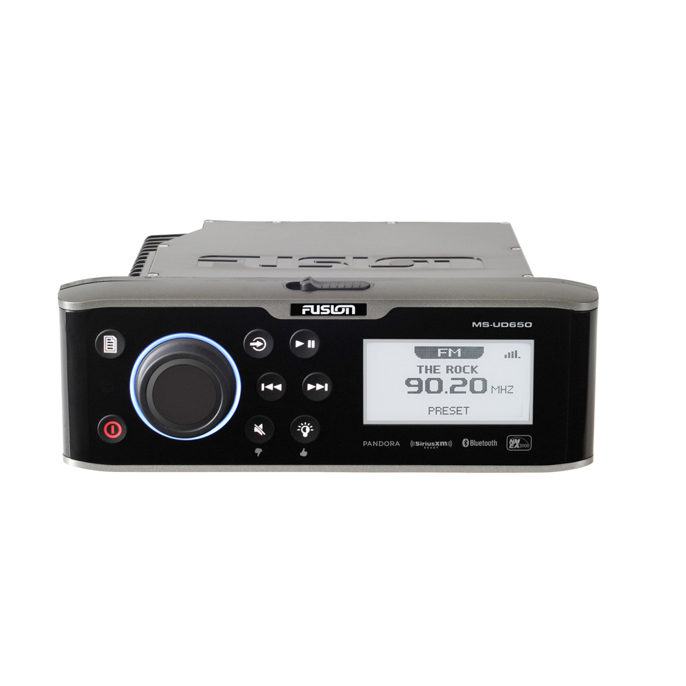 FUSION UD650 Marine Entertainment System w/Built-In UniDock, Bluetooth & FUSION-Link - *Case of 6*
