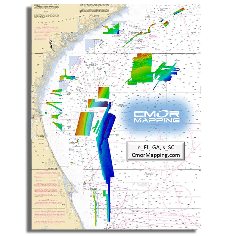 Furuno CMOR Mapping - North Florida, Georgia & South Carolina f/TZT2 & TZT3