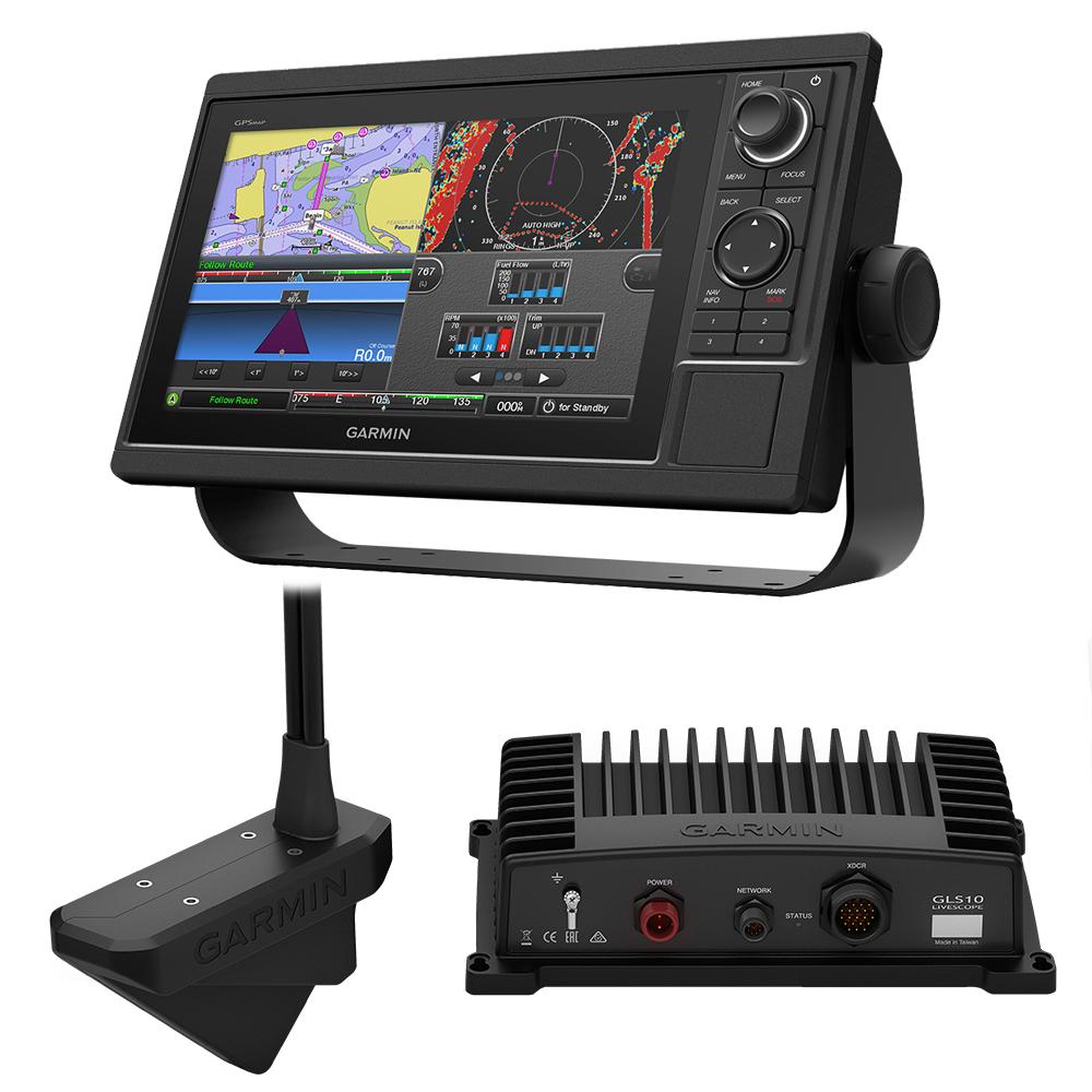 Garmin GPSMAP® 1022 Livescope Bundle