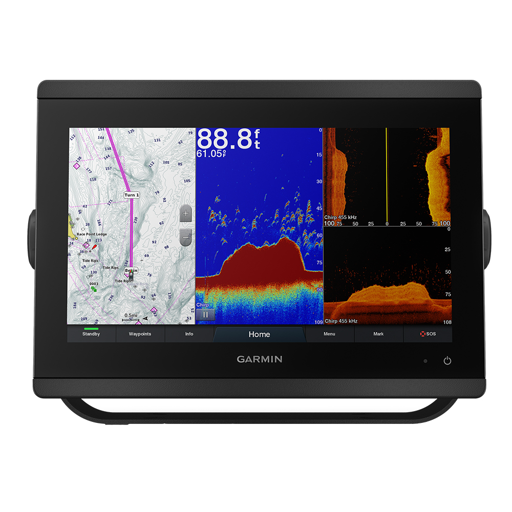 "Garmin GPSMAP® 8612xsv 12"" Chartplotter/Sounder Combo w/Mapping & Sonar"
