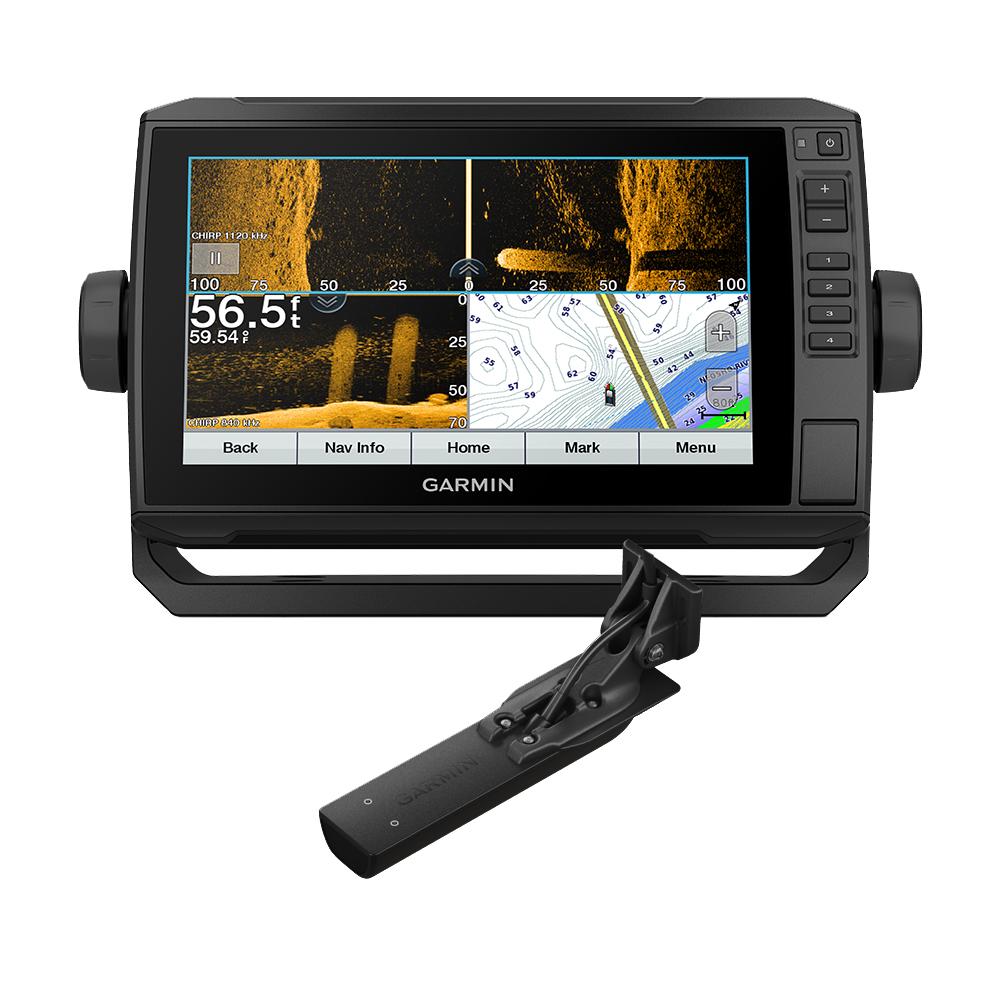 Garmin ECHOMAP™ UHD 93sv Combo GPS/Fishfinder - Preloaded US LakeVü g3 w/GT56UHD-TM