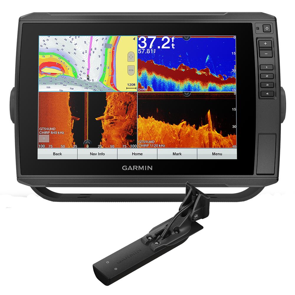 Garmin ECHOMAP™ Ultra 106sv Preloaded US Offshore BlueChart® g3 - LakeVü g3 w/GT56UHD-TM