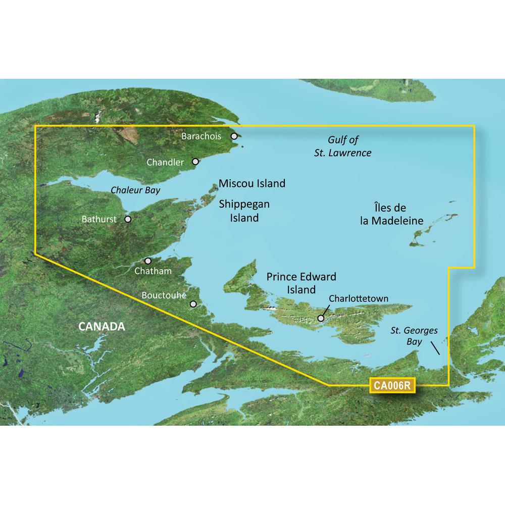 Garmin BlueChart® g3 Vision® HD - VCA006R - P.E.I. to Chaleur Bay - SD Card
