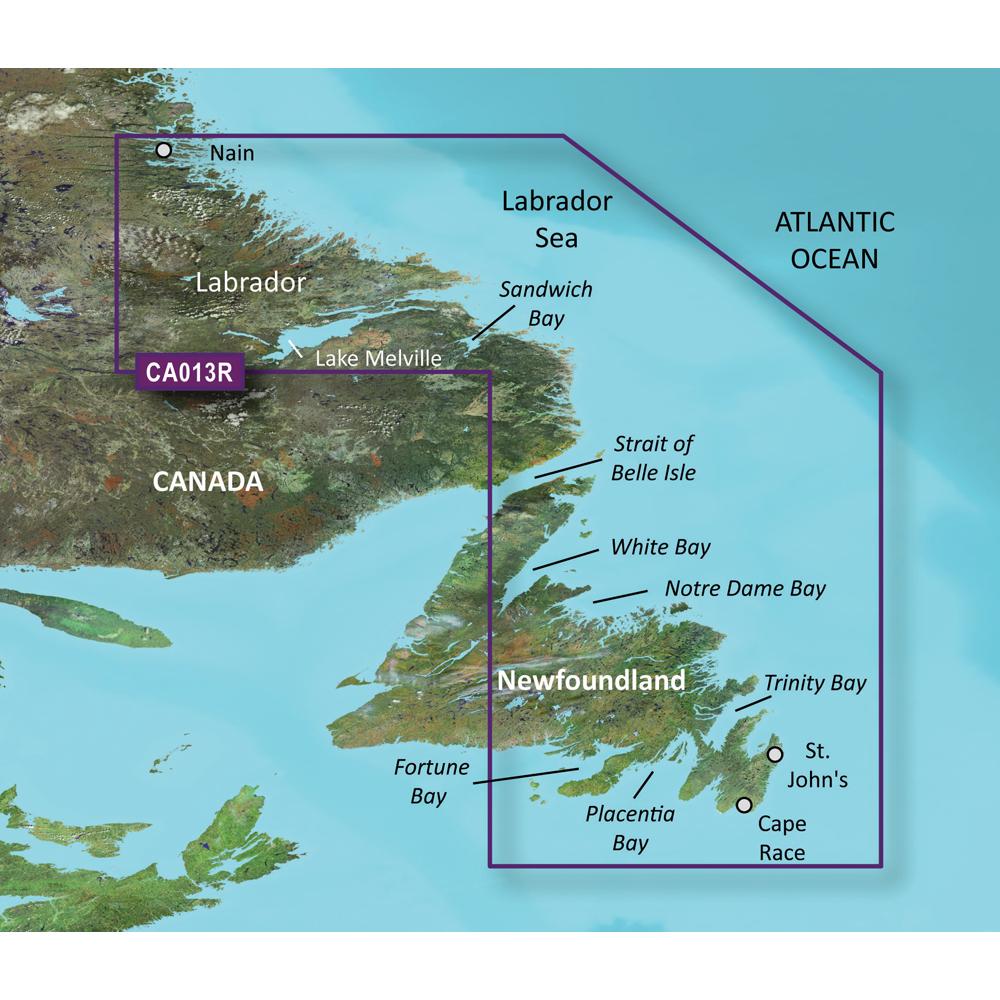 Garmin BlueChart® g3 Vision® HD - VCA013R - Labrador Coast - microSD™/SD™