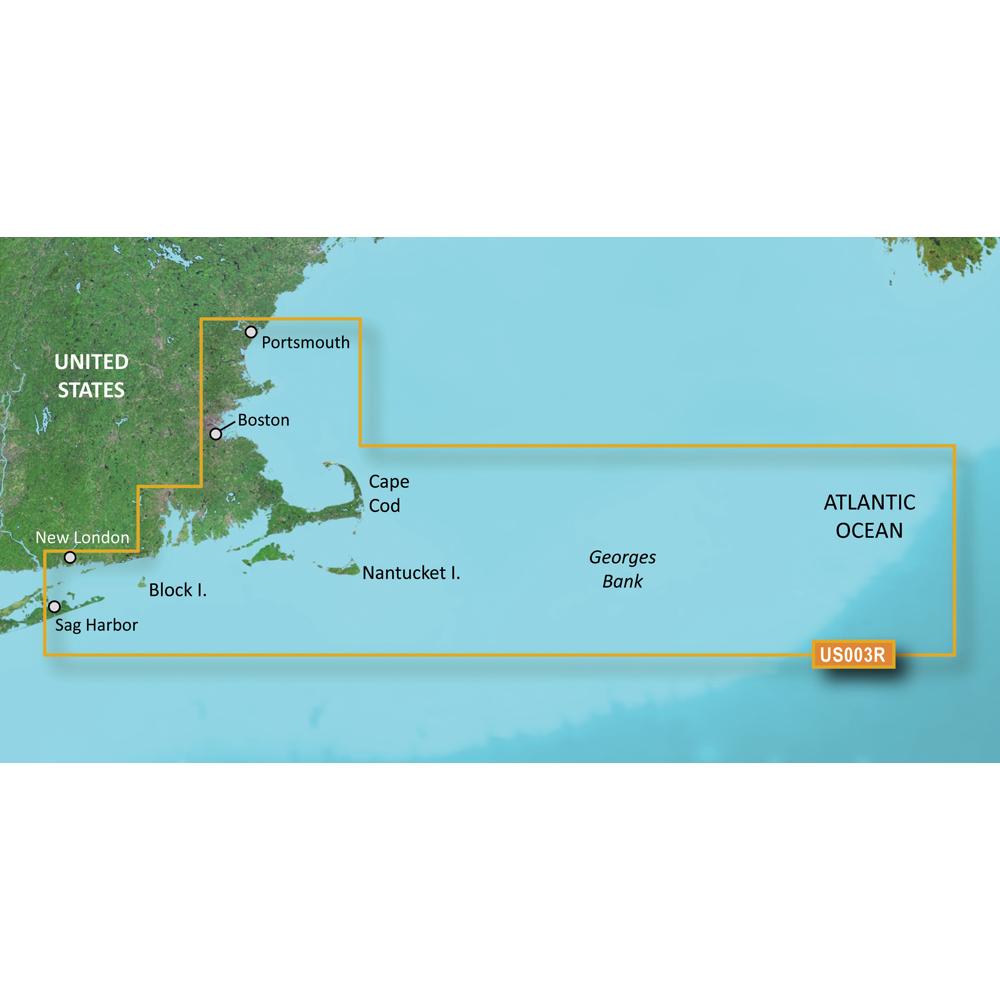 Garmin BlueChart® g3 Vision® HD - VUS003R - Cape Cod - microSD™/SD™