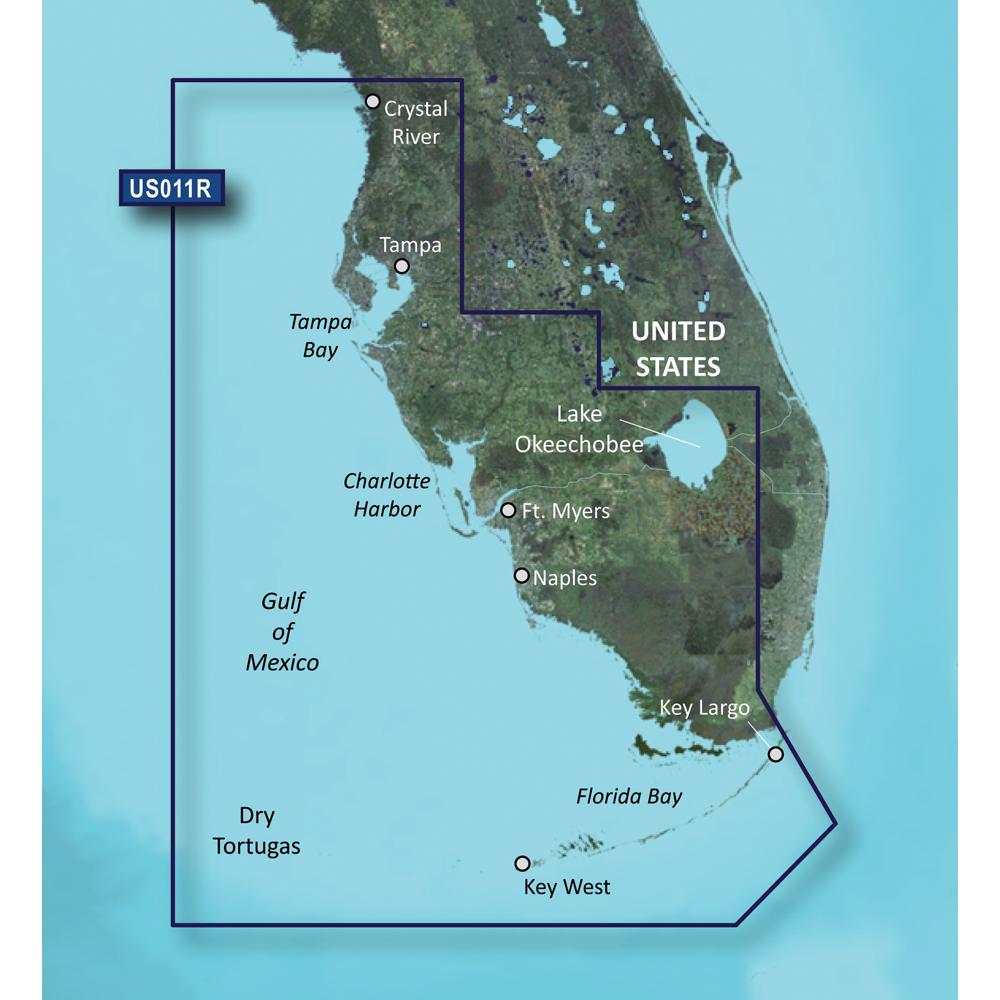 Garmin BlueChart® g3 Vision® HD - VUS011R - Southwest Florida - microSD™/SD™