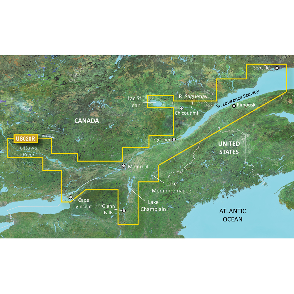 Garmin BlueChart® g3 Vision® HD - VUS020R - St. Lawrence Seaway - microSD™/SD™
