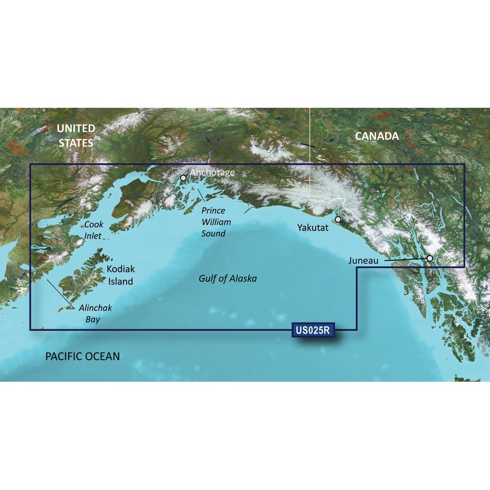 Garmin BlueChart® g3 Vision® HD - VUS025R - Anchorage - Juneau - microSD™/SD™