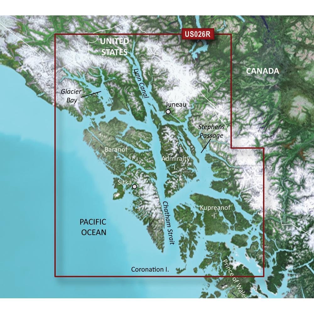 Garmin BlueChart® g3 Vision® HD - VUS026R - Wrangell/Juneau/Sitka - microSD™/SD™