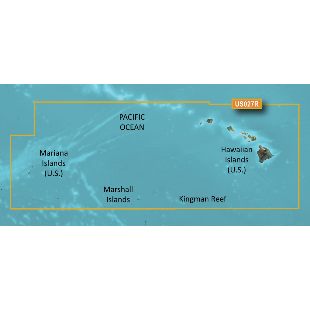 Garmin BlueChart® g3 Vision® HD - VUS027R - Hawaiian Islands - Mariana Islands - microSD™/SD™