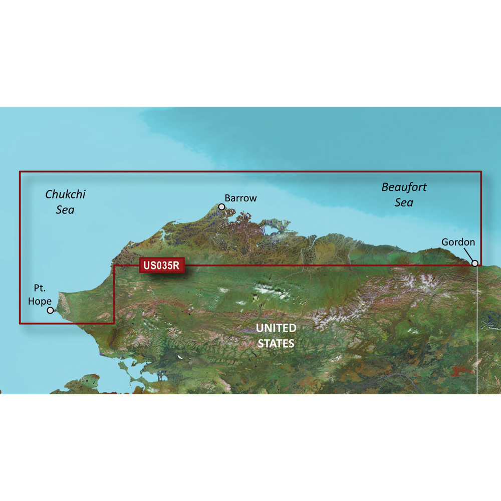 Garmin BlueChart® g3 Vision® HD - VUS035R - North Slope Alaska - microSD™/SD™