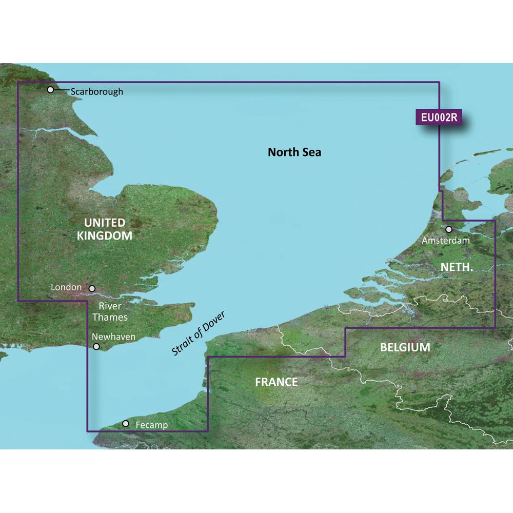 Garmin BlueChart® g3 Vision® HD - VEU002R - Dover to Amsterdam & England Southeast - microSD™/SD™