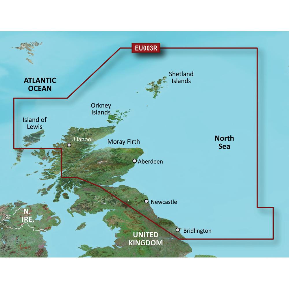 Garmin BlueChart® g3 Vision® HD - VEU003R - Great Britain, Northeast Coast - microSD™/SD™