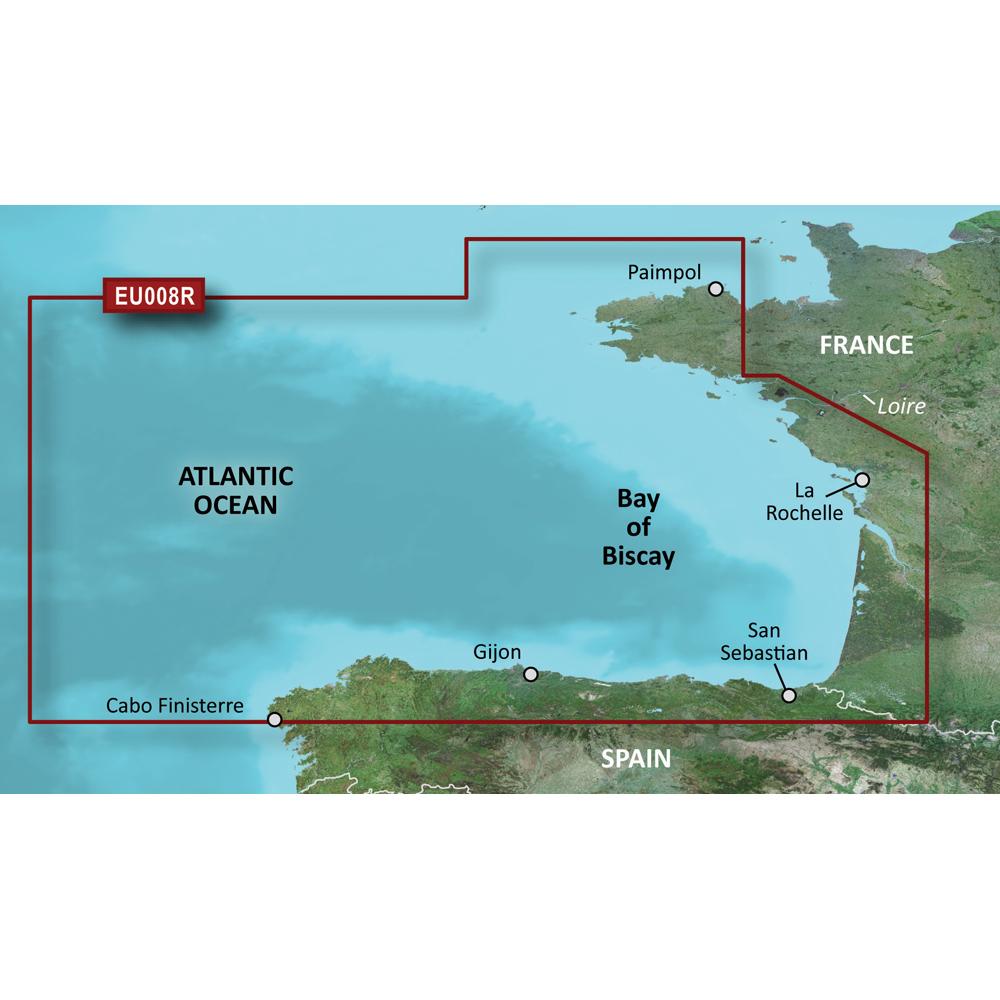Garmin BlueChart® g3 Vision® HD - VEU008R - Bay of Biscay - microSD™/SD™