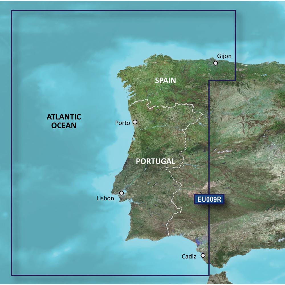 Garmin BlueChart® g3 Vision® HD - VEU009R - Portugal & NW Spain - microSD™/SD™