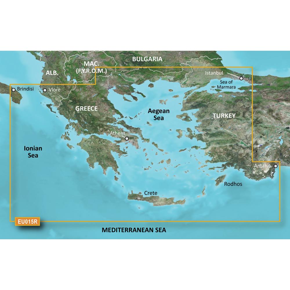 Garmin BlueChart® g3 Vision® HD - VEU015R - Aegean Sea & Sea of Marmara - microSD™/SD™
