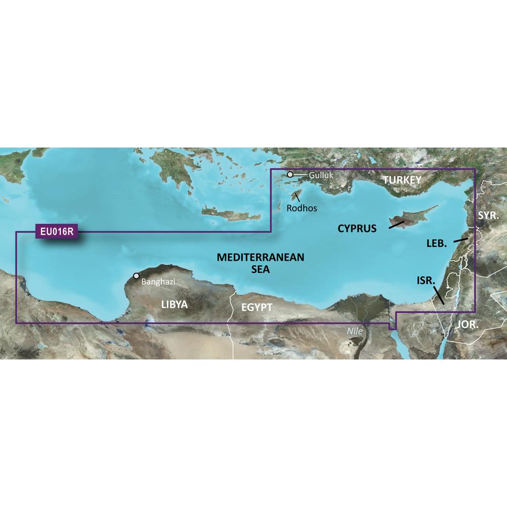 Garmin BlueChart® g3 Vision® HD - VEU016R - Mediterranean Southeast - microSD™/SD™